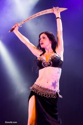 belly, canada, dancer, dancing, performer, sword, toronto, woman