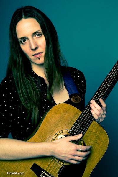 arts, guitar, music, musician, performer, portrait, toronto, woman