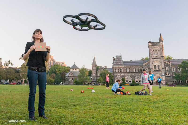drone, engineering, front campus, professor, toronto, u of t, University, uoft, woman